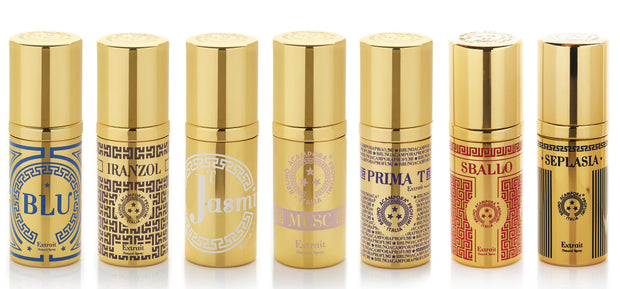 Extrait Acampora Profumi Musc Collection Jasmin Parfume Spray Gold