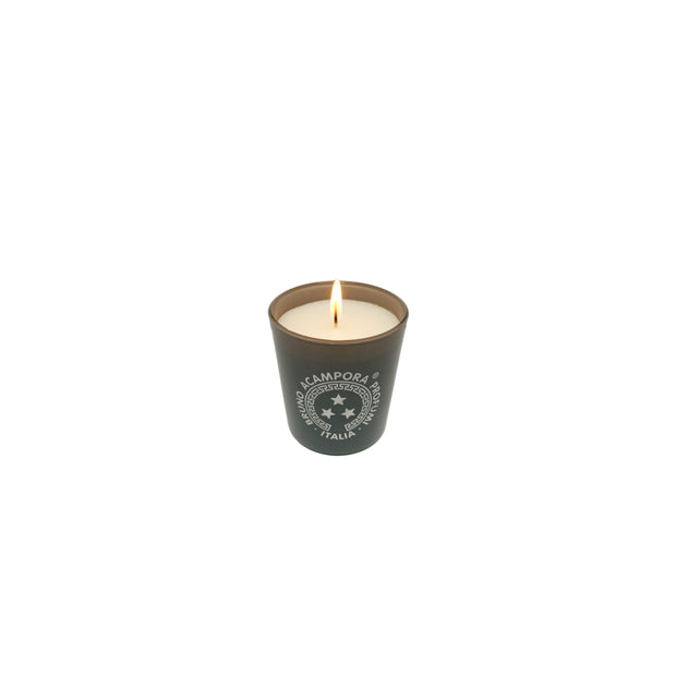 Candele Profumate in bicchiere grigio 170gr