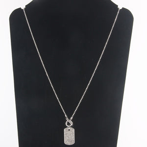Sterling Silver/Gold Plate Chain Necklace