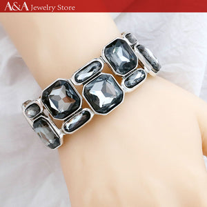 Bracelets Bangles with Crystal
