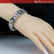 Hot Sales Bracelets & Bangles with Black Rhinestones Vintage Bracelets