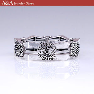 Vintage Bracelets & Bangles for Women Silver Plated Bracelets New Design