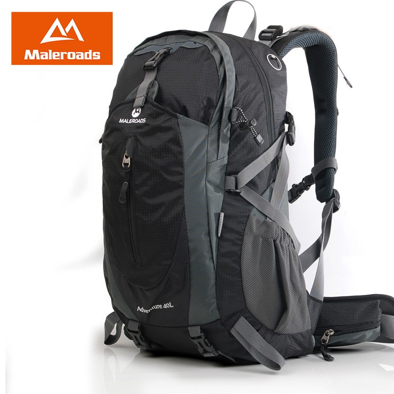 7d9f96a28c05 Maleroads 40L 50L Outdoor Camping Hiking Backpack Waterproof Travel  Mountain Climb Laptop Bags