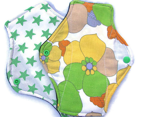 Cosypads Reusable Sanitary Towel Starter Set, available to be posted anywhere in the UK