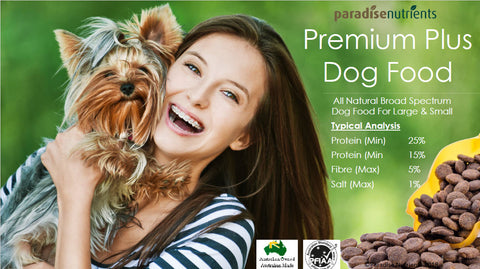 paradise nutrients premium australian made dog food