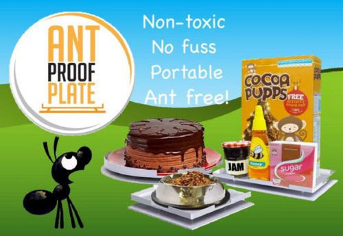 ANT PROOF PLATES ANT REPELLENT NON TOXIC PEST CONTROL