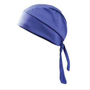 blue cool caps to wear during chemo