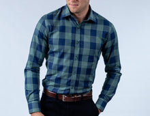 Load image into Gallery viewer, Green Checked Shirt