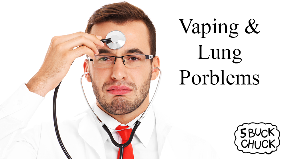 Vaping e cigarettes and lung problems