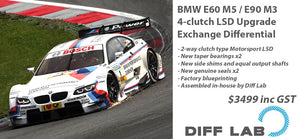 BMW E90 M3 4-clutch LSD Upgrade