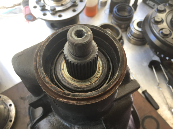 Seized BMW M3 diff bearing