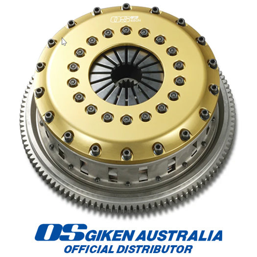 Nissan Skyline HR30 GC10 C110 L6 OS Giken Clutch and Flywheel GT Twin-Plate