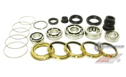 Honda Carbon Gearbox Rebuild Kit Synchrotech B16 B18 Cable Y1 S1 (BSK-SYN103)