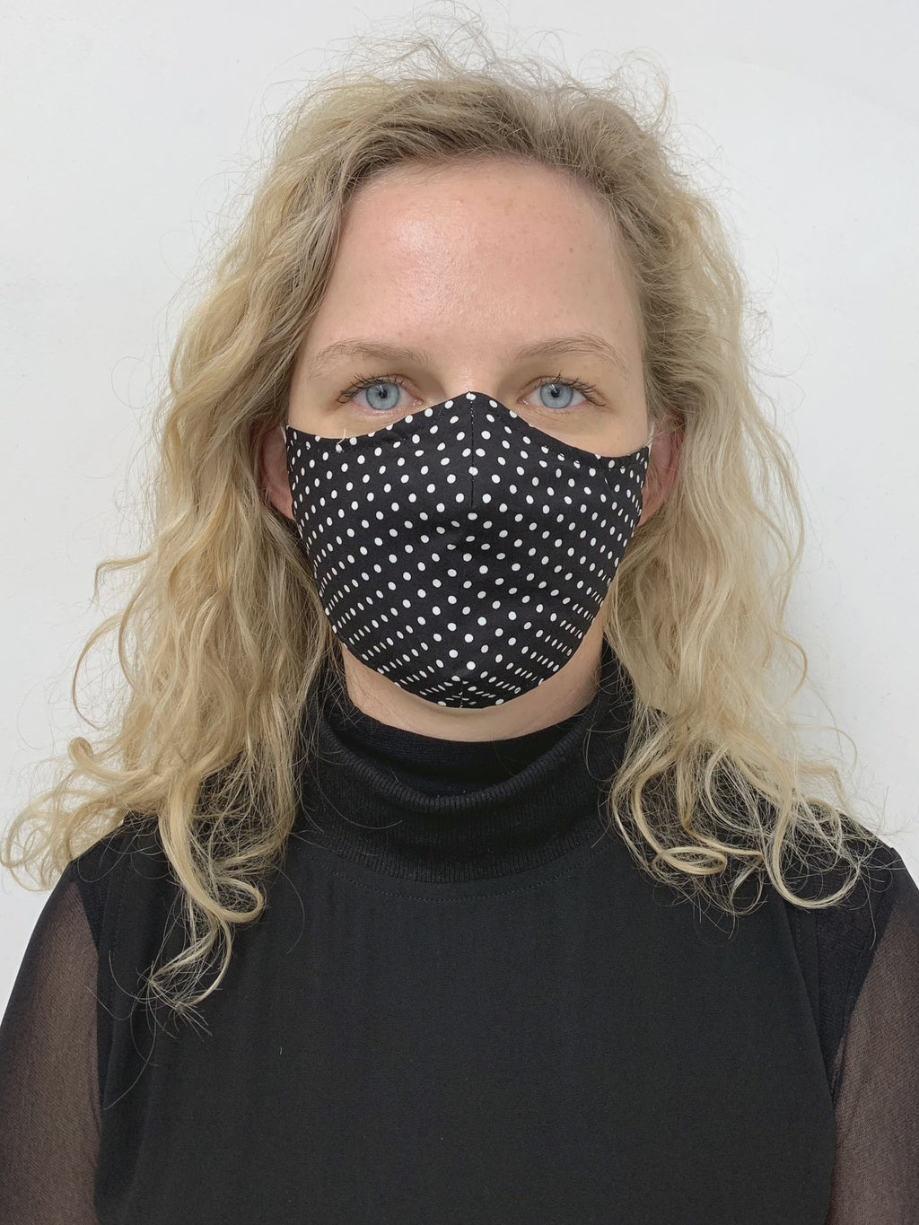 MINX Face Mask - Black Spot