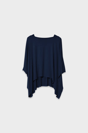 ELK Wide Stretch Navy Top