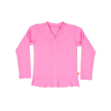 Miss Salty Long Sleeve Rashvest - Candy Pink