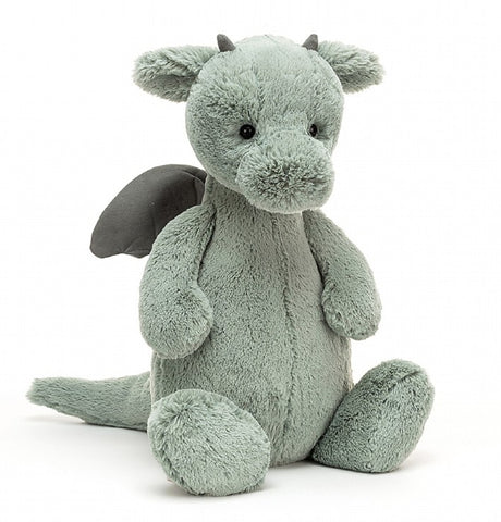 Jellycat Bashful Medium Dragon | Sage