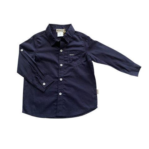 Boys Dress Shirt - Navy