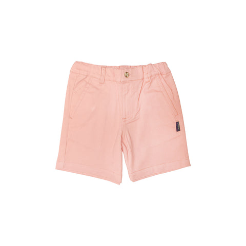 HAMPTONS Chino Shorts - Salmon