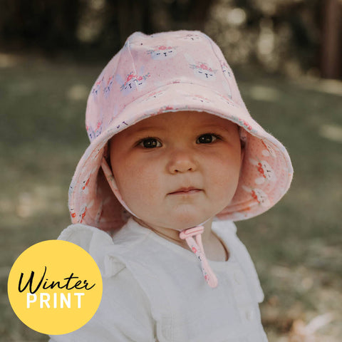 Toddler Bucket Hat - Blossom UPF50+ Bucket sun hat with strap