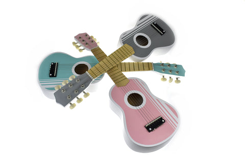 CLASSIC CALM WOODEN GUITAR 3 ASSORTED COLOURS