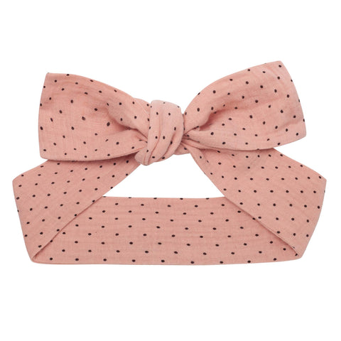 Georgia Spot Headband - Dusty Pink | PRE-ORDER