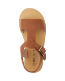Racer Sandal Tan - Walnut Melbourne