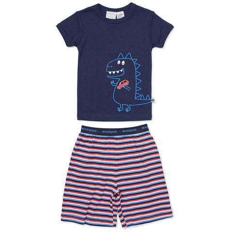 Boys Dinosaur Summer Pyjamas