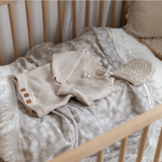 MINI DAIST SAGE FRINGE SWADDLE