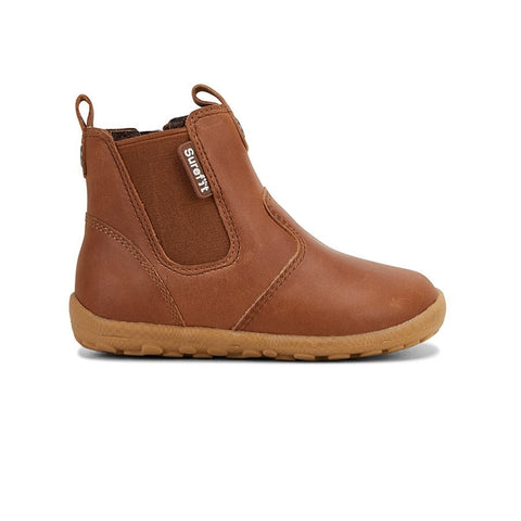 SUREFIT MANI TAUPE LEATHER BOOTS