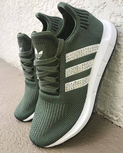 7b9a5b5e8 Adidas Swift Run Olive – Bling Kickz