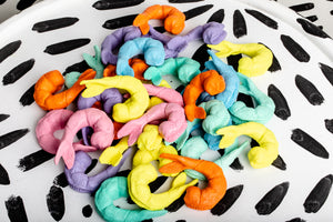 Pastel Shrimp Magnets