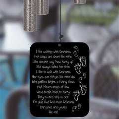 wind chimes with grandma poem