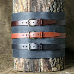 mens fashion leather belt