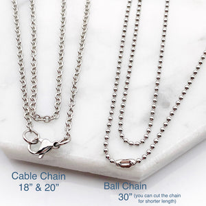 Gemini Constellation Silver Zodiac Necklace
