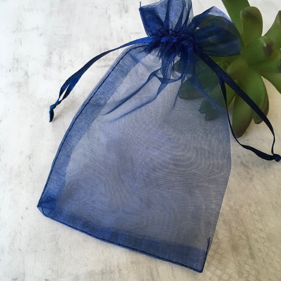 organza necklace gift bag
