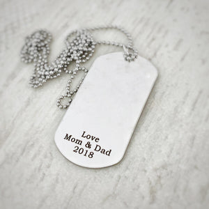 add on back personalized option engraved love mom and dad