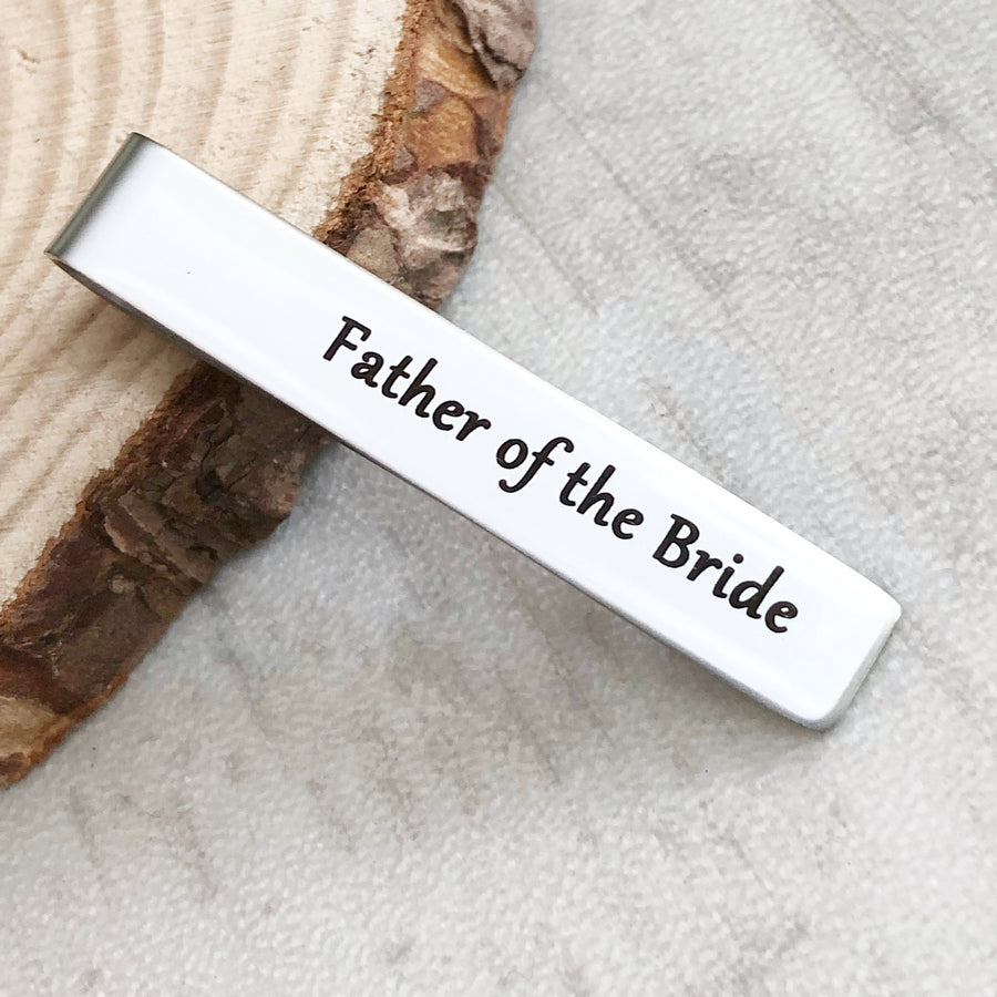 """I loved her first"" - Father of the Bride Wedding Cufflinks"