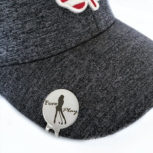 Funny golf ball marker with magnetic hat clip christmas fathers day birthday retirement gift for men dad grandpa friend