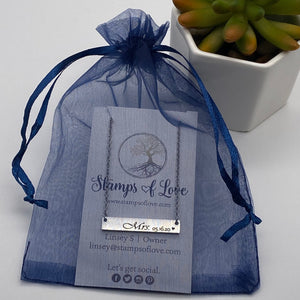 stamps of love gift bag