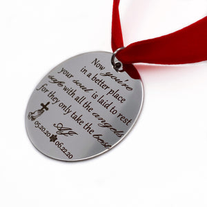 Loss of a Loved One Christmas Tree Memorial Ornament
