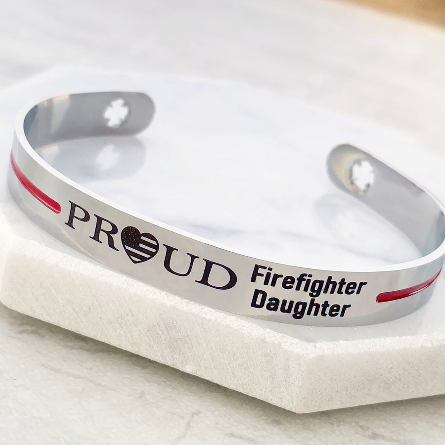 proud firefighter daughter