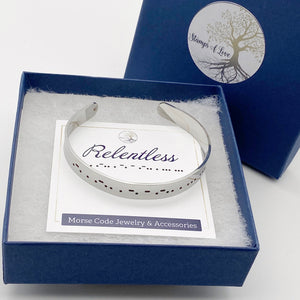 relentless gift box packaging