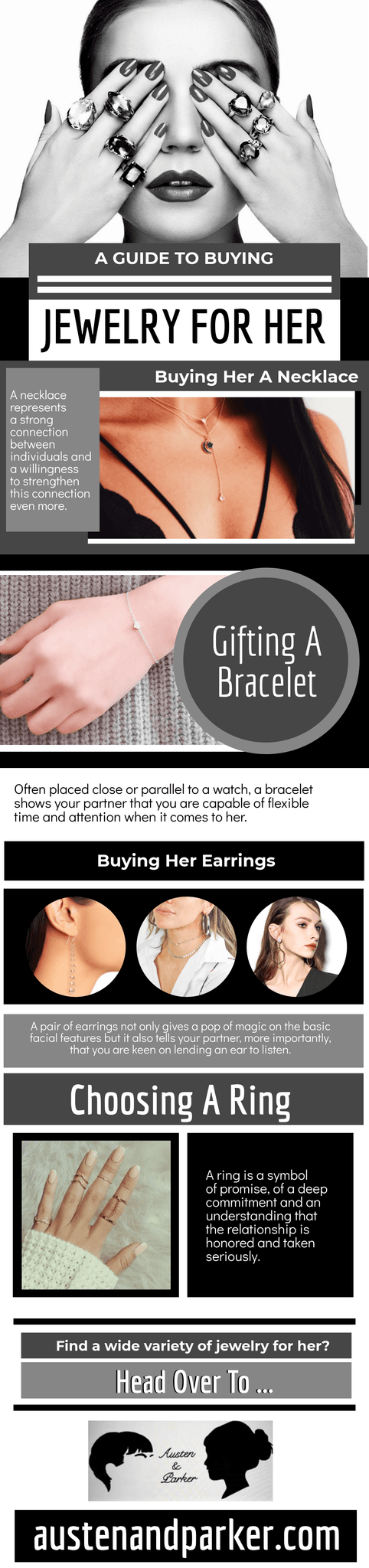 A Guide to Buying Jewlery for Her