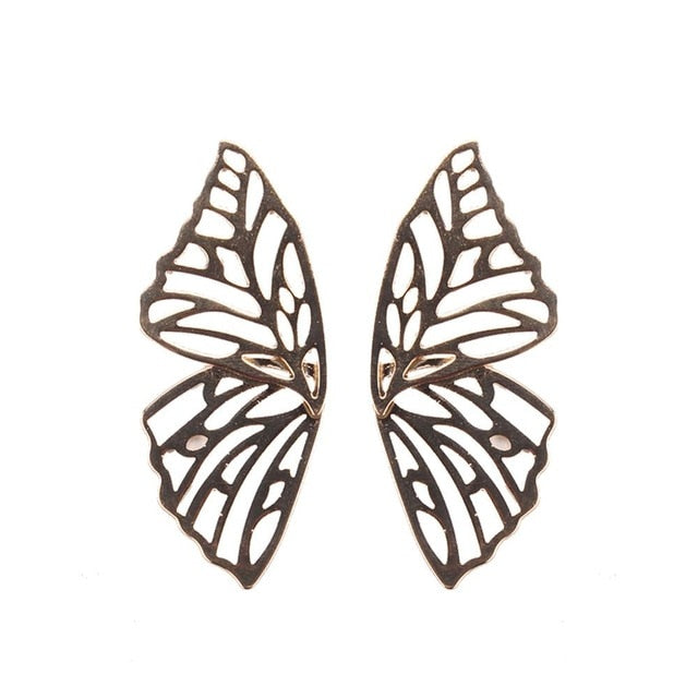 Austen & Parker Classic Large Butterfly Earrings