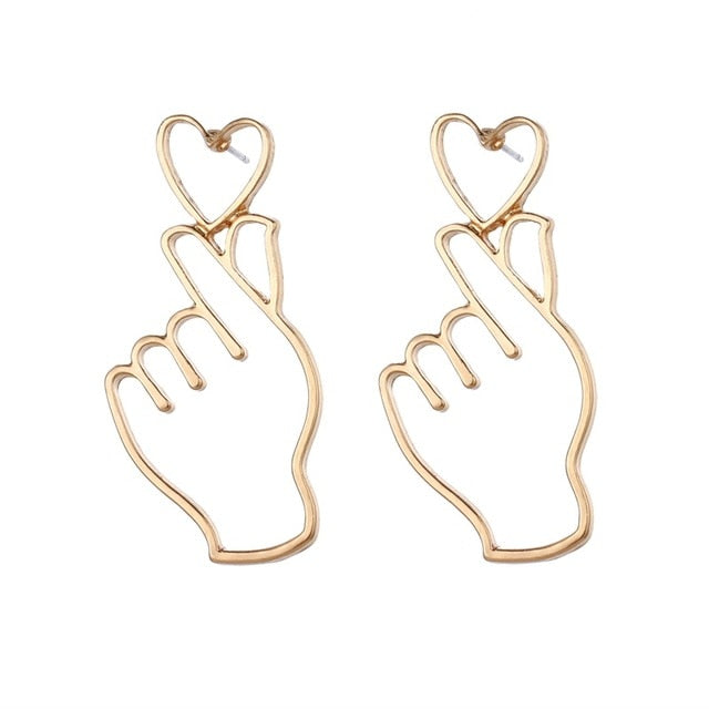 I Carry Your Heart With Me Earrings
