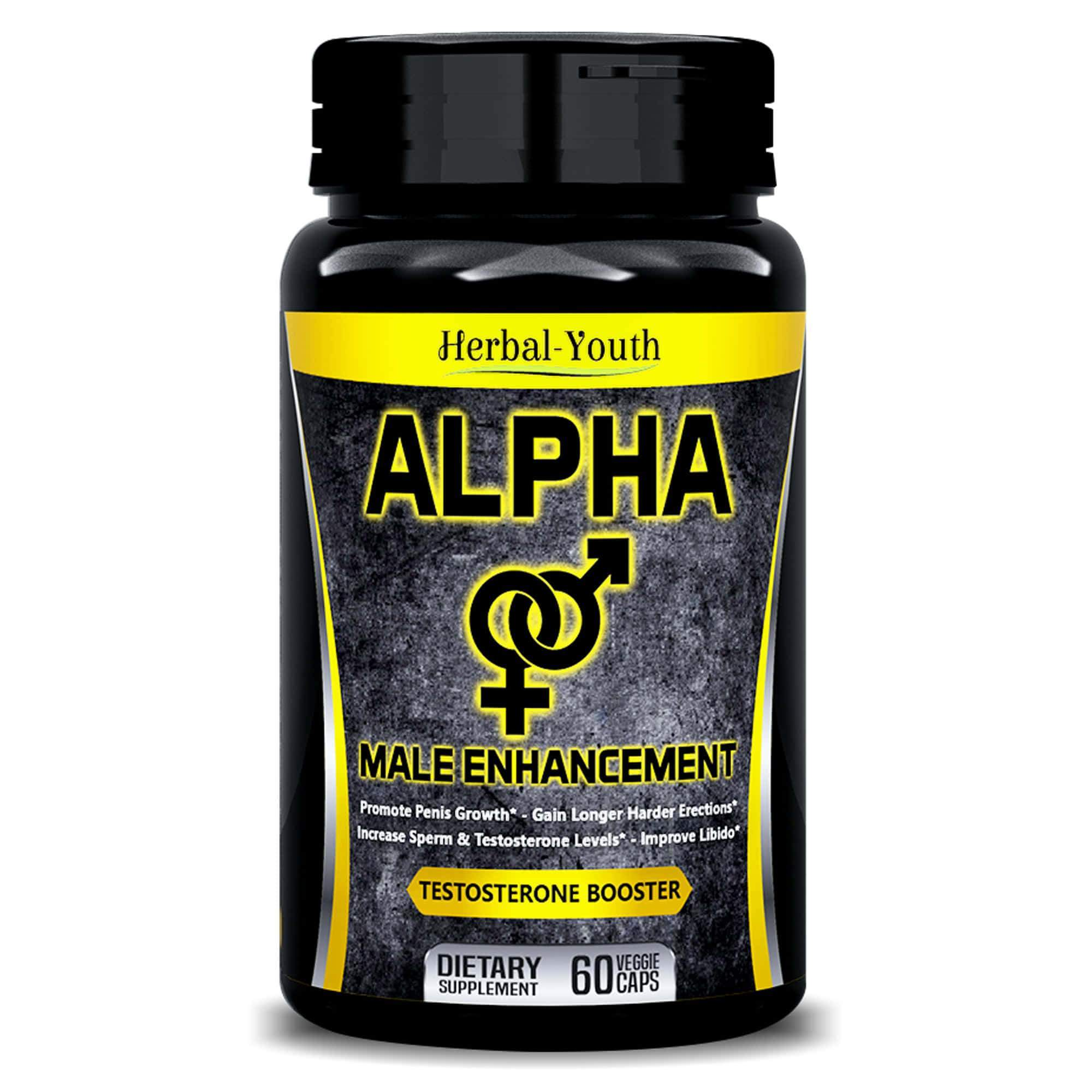 Alpha Male Enlargement Pills 100 Natural Supplements Health N