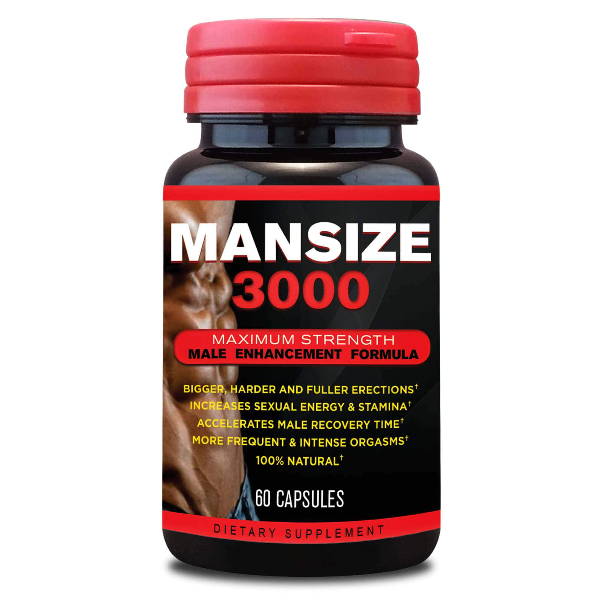 MANSIZE 3000 - Best Male Enhancement Pills