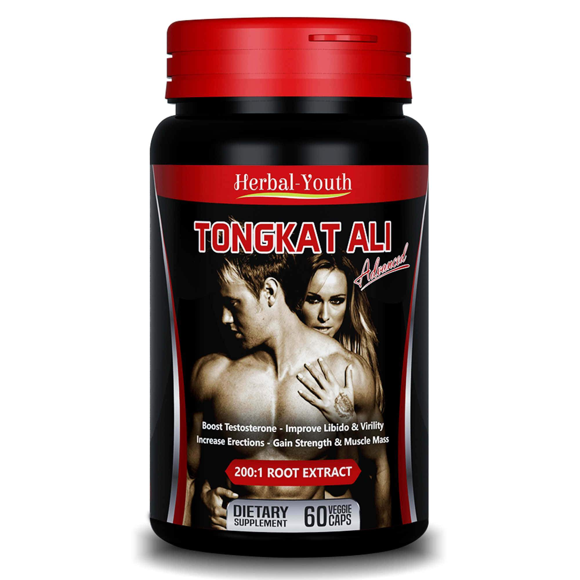 Tongkat Ali Advanced - Herbal Testosterone Booster