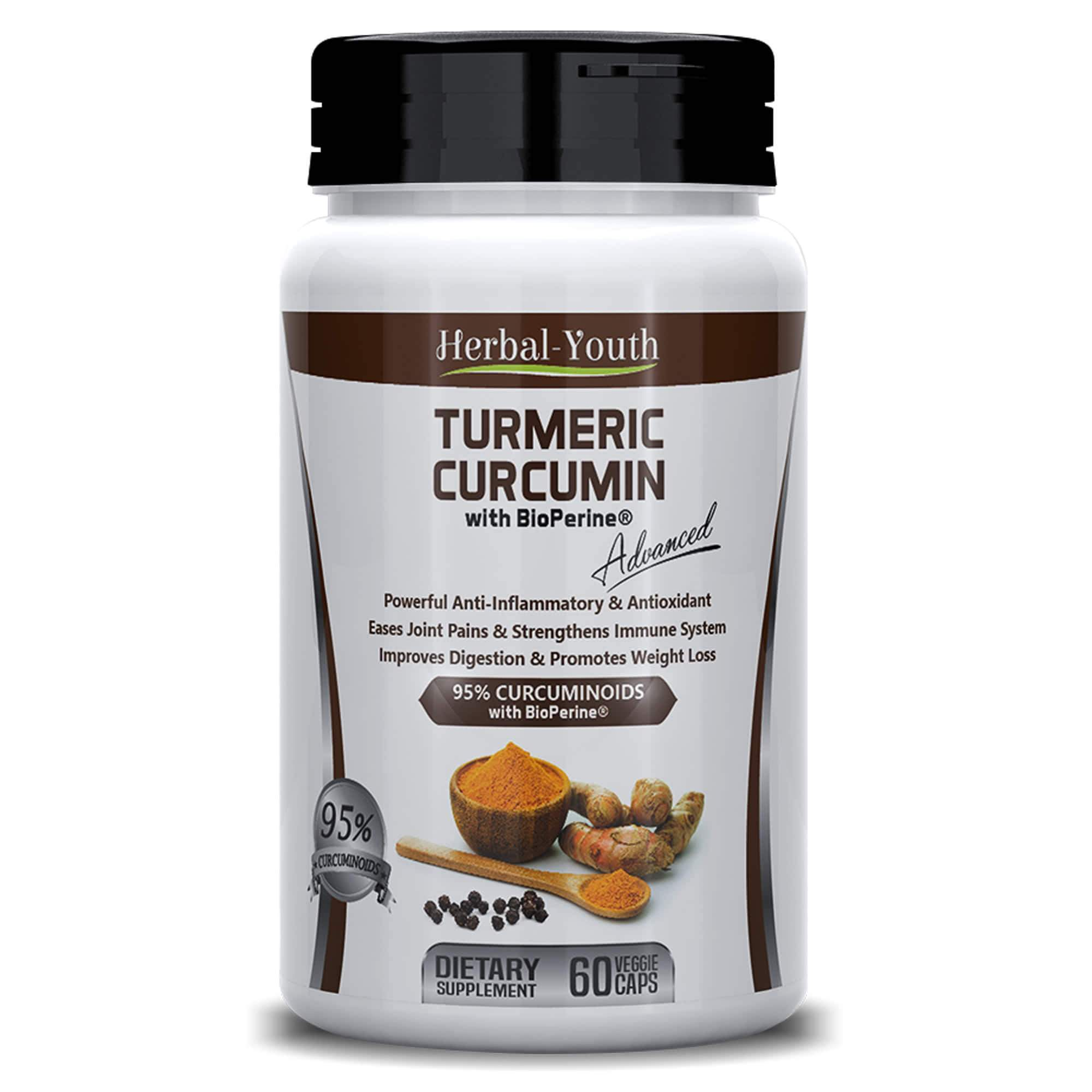 Turmeric with Bioperine - Herbal Supplements